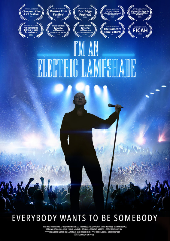 I'M AN ELECTRIC LAMPSHADE-poster