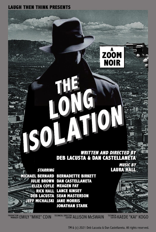 THE LONG ISOLATION-poster